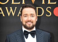 Jason Manford at this year's Olivier Awards. Photo: Pamela Raith