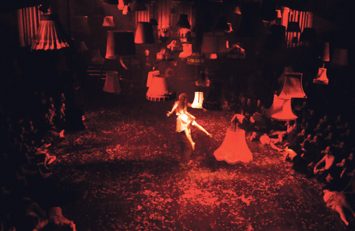 Punchdrunk's influential immersive show The Masque of the Red Death, 2007. Photo: Stephen Dobbie