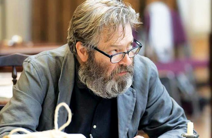 Roger Allam in rehearsals for Rutherford and Son. Photo: Johan Persson