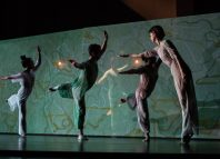 The ensemble in Four Quartets, Dry Salvages. Photo: Maria Baranova