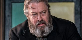 Roger Allam in Rutherford and Sons. Photo: Johan Persson