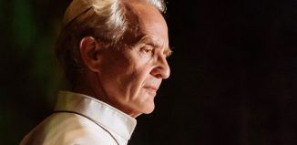 Anton Lesser in The Pope at the Royal and Derngate. Photo: Manuel Harlan