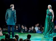 7. l-r Oliver Chris (Oberon) and Gwendoline Christie (Titania), photo by Manuel Harlan