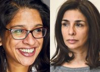 Indhu Rubasingham and Shobna Gulati. Photos: Mark Douet/Robert Day