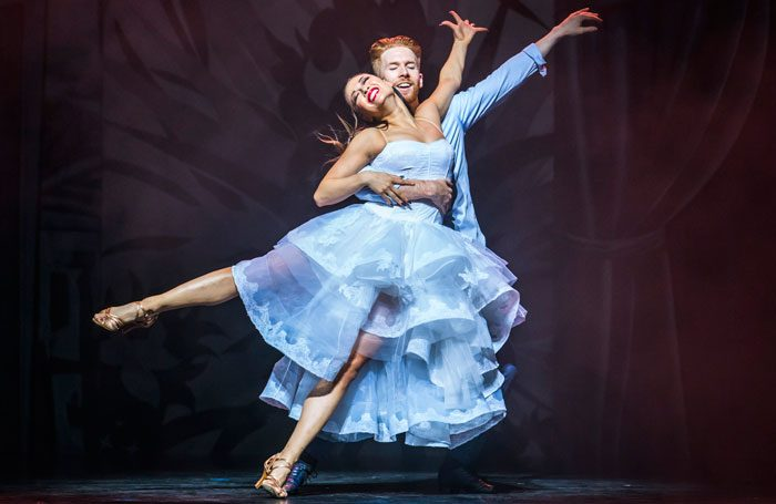 Katya Jones and Neil Jones in Somnium: A Dancer's Dream at Sadler's Wells, London. Photo: Tristram Kenton