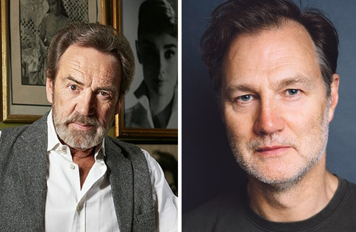 Robert Lindsay and David Morrissey. Photo: Helen Murray