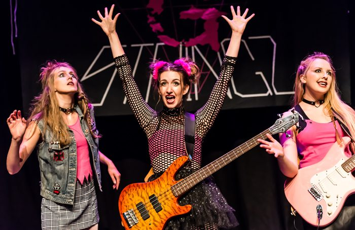 The Half Moon Shania – a punk rock gig theatre show from Burnt Lemon that will be at Incoming Festival