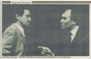 Douglas Fielding in The Stage's review pages in 1991