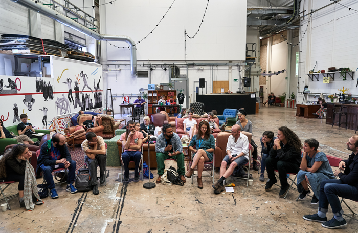 Participants in the BE Festival. PhotoAlex Brenner