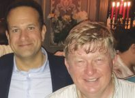 Brian Merriman at IDGTF this year with Taoiseach Leo Varadkar