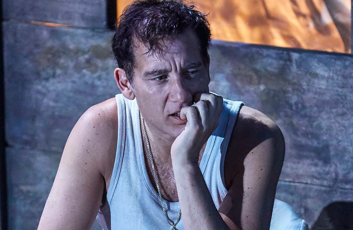 Clive Owen in The Night of the Iguana at the Noel Coward Theatre. Photo: Brinkhoff.Moegenburg
