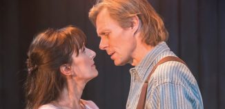 Jenna Russell and Edward Baker-Duly in The Bridges of Madison County. Photo: Johan Persson