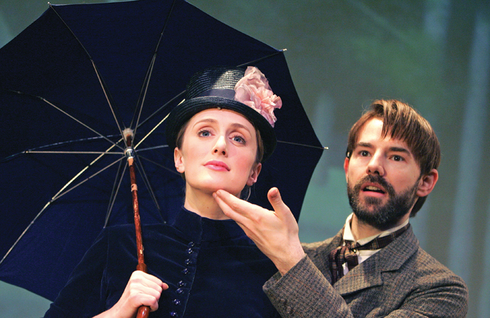Jenna Russell and Daniel Evans in Sunday in the Park With George at Wyndham's Theatre in 2005. Photo: Tristram Kenton