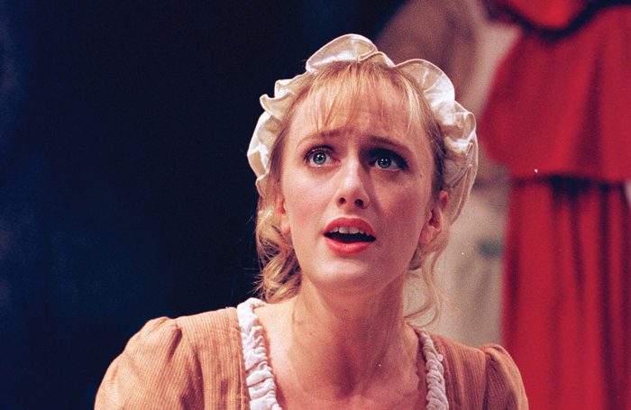 Jenna Russell in Into the Woods at the Donmar Warehouse in 1998. Photo: Tristram Kenton