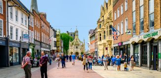 Chichester high street. Photo: Shutterstock