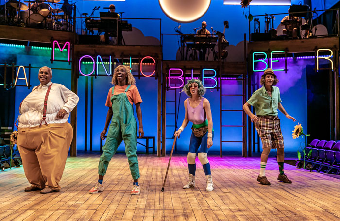 Mr Gum and the Dancing Bear review at National Theatre, London