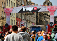 The Royal Mile during last year's Edinburgh Festival Fringe. Photo: Shutterstock