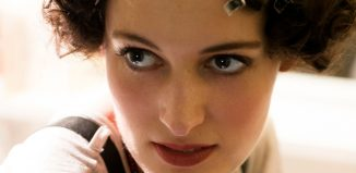 Phoebe Waller Bridge preparing for Rope at The Almeida (2009). Photo: Simon Annand