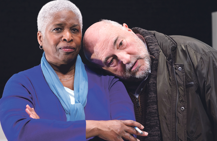 Cheryl Lynn Bruce and John Apicella in Hillary and Clinton, 2016. Photo: Michael Courier