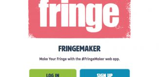 The FringeMaker app, which encourages audiences to strike out beyond the main venues with a treasure hunt