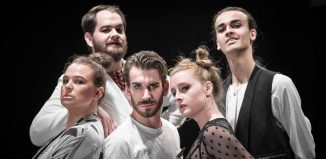 The cast of Jekyll and Hyde at Assembly Rooms, Edinburgh. Photo: Tom Hoyle