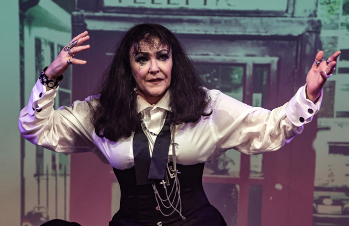 Frances Barber in Musik at Assembly Rooms, Edinburgh. Photo: The Other Richard