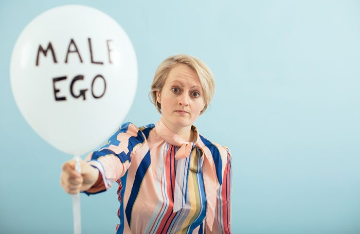 Melanie Jordan in A Brief History of the Fragile Male Ego at Pleasance Dome, Edinburgh