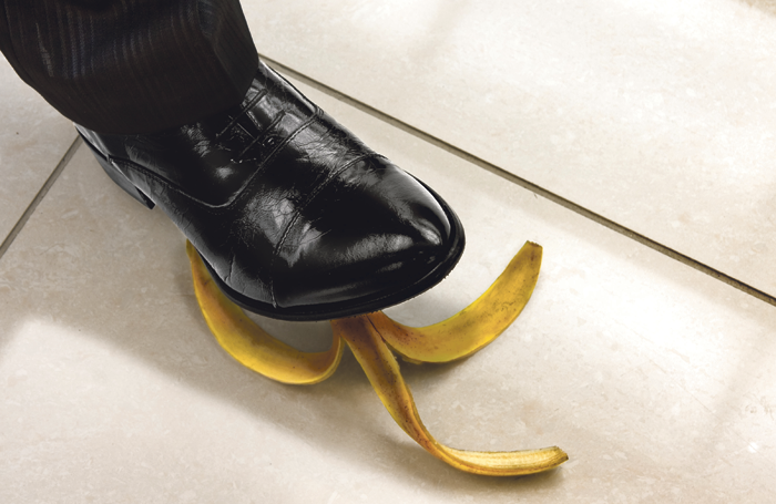 Does the banana-skin scenario hold the key to comedy? Photo: Shutterstock