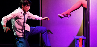 A scene from Spray at Assembly Roxy. Photo: Lee Sang-hee