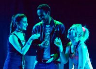 Zarima McDermott, Isambard Rawbone and Aoife Smyth in If This Is Normal at Zoo Playground, Edinburgh