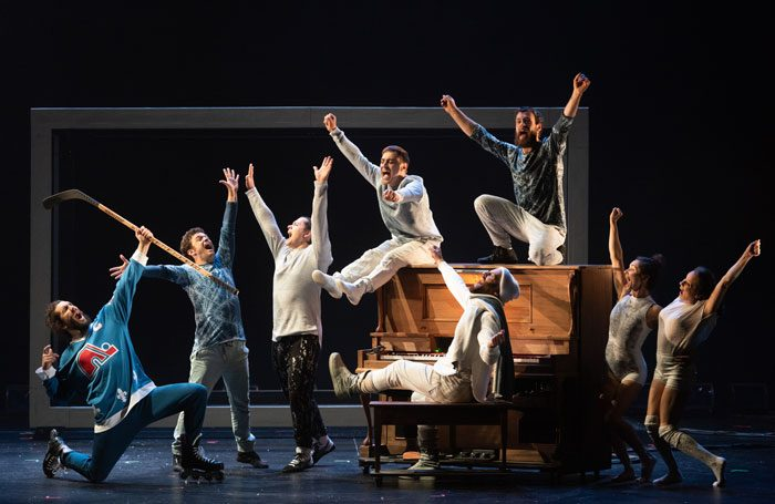 The cast of Flip Fabrique's Blizzard. Photo: Sebastien Durocher