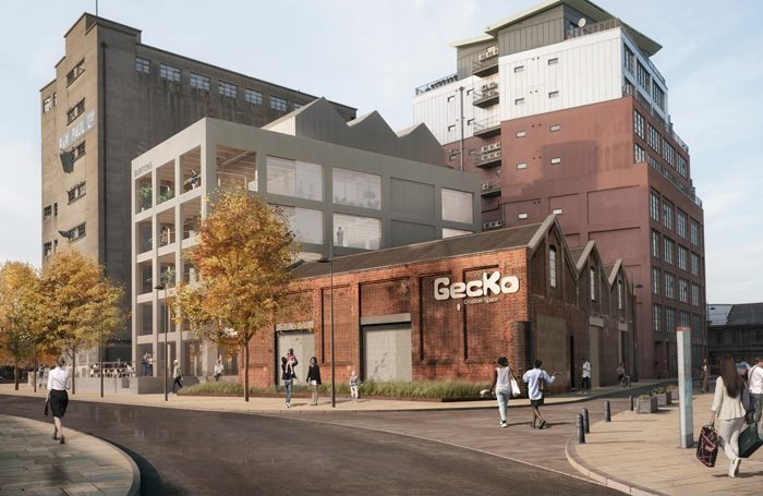 An artist's impression of the Ipswich redevelopment where Gecko would be based