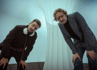 Thaddeus Phillips and Ean Sheehy in Inflatable Space at Assembly Rooms, Edinburgh. Photo: Elvis Suarez