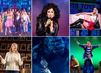 Top row: The Prom, The Cher Show and Pretty Woman. Bottom row: What the Constitution Means to Me, King Kong and Be More Chill. Photos: Matthew Murphy/Deen van Meer/Joan Marcus/Maria Baranova