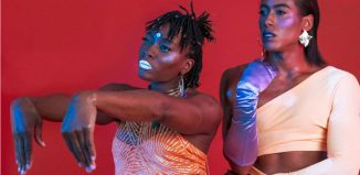 Rachael Young and marikiscrycrycry in Out at Summerhall, Edinburgh