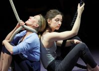 Tamsin Shasha and Maisy Taylor in Everything I see I Swallow at Summerhall, Edinburgh. Photo: The Other Richard