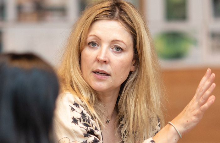 Rachel O'Riordan in rehearsals for A Doll's House. Photo: Helen Maybanks