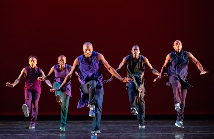 Alvin Ailey American Dance Theater: Lazarus review at Sadler's Wells, London – 'superbly danced'