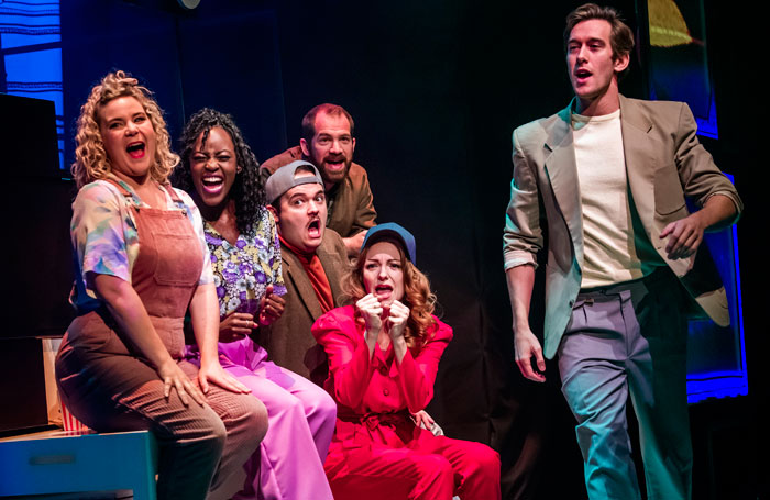 Falsettos review at the Other Palace, London – 'an effortful production'
