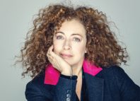 Alex Kingston. Photo: Trevor Leighton