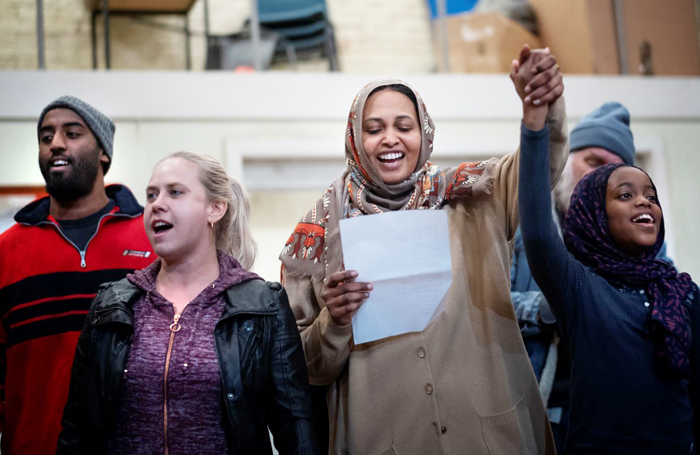 A scene from Faith, Hope and Charity at the National Theatre. Photo: Sarah Lee