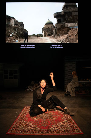 Orestes in Mosul review at National Theatre, Belgrade – 'bold, audacious theatremaking'