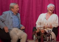 Michael Billington and Judi Dench. Photo: Craig Sugden