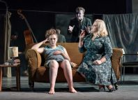 Gemma Dobson, Tom Varey and Jodie Prenger in A Taste of Honey. Photo: Marc Brenner