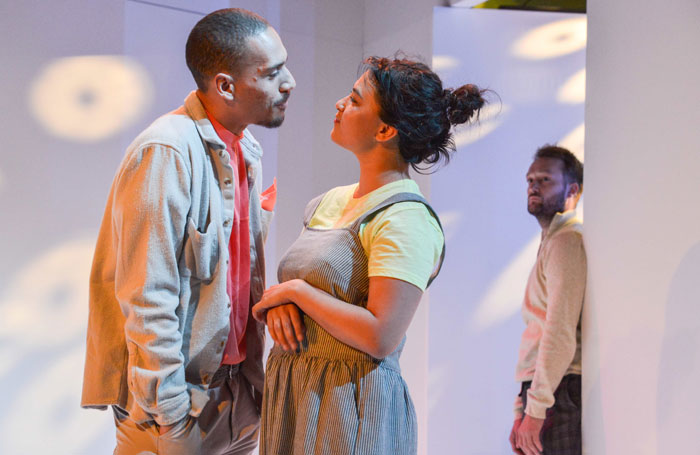 Either review at Hampstead Theatre, London – 'playful, thought-provoking debut'