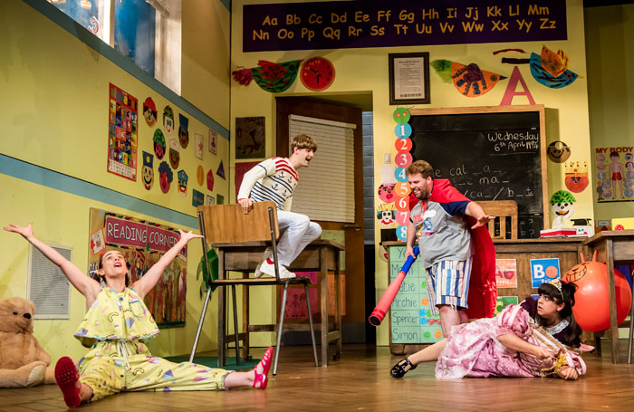 Richard Jordan: Just like comedy, theatre is all about getting the timing right