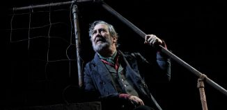 Ciarán Hinds in Translations at the National Theatre, London. Photo: Catherine Ashmore