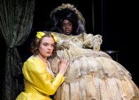 Alice Franziska and Tiwalade Ibirogba Olulode in Great Expectations. Photo: Ali Wright