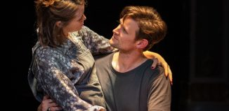 Claire Foy and Matt Smith in Lungs. Photo: Helen Maybanks