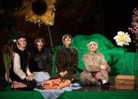 The cast of The Wind in the Willows at Cambridge Junction. Photo: Claire Haigh